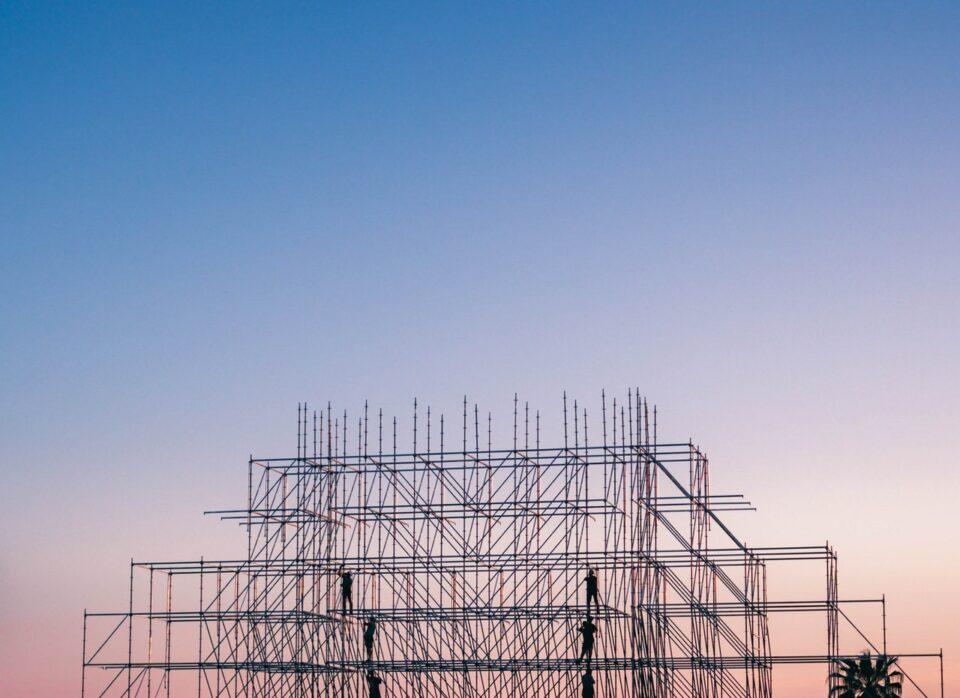 construction dawn